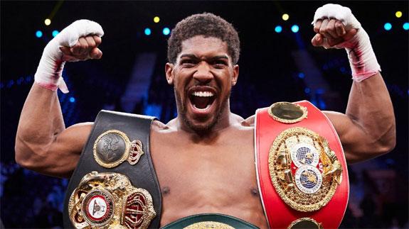 Joshua o walce o pas WBC: musi dojść do niej w 2020