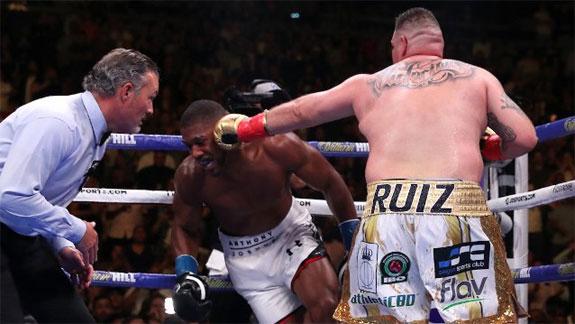 Fury: Ruiz wygra rewanż z Joshuą, zawsze z nim wygra